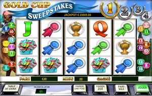 Jeu Gold Cup Sweepstakes