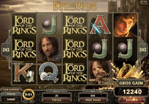 Les machines à sous Lord of the Rings – Jouez en ligne